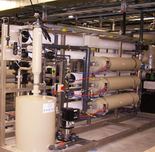NVCC reuse of reclaimed water