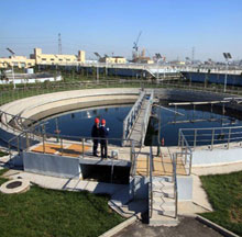 Papermaking wastewater treatment