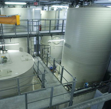 Semiconductor wastewater treatment
